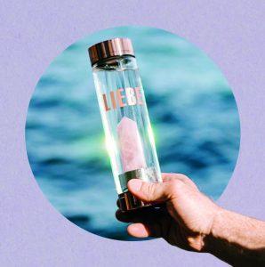 energetisiertes Wasser durch Edelsteine